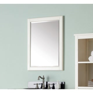 Avanity Hamilton French White 24-inch Mirror