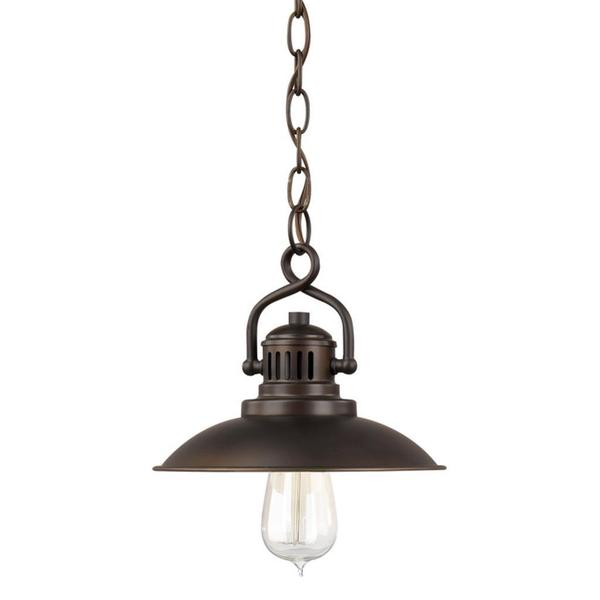 O'Neill 1-light Mini Pendant in Burnished Bronze