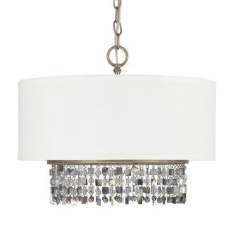 Capital Lighting Harper Collection 5-light Brushed Gold Dual Mount Pendant