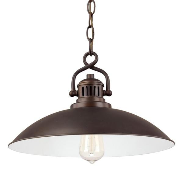 O'Neill 1-light Pendant in Burnished Bronze