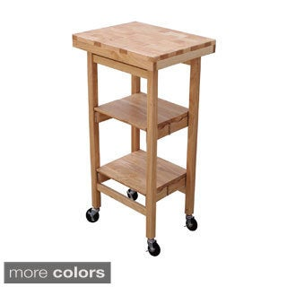 Oasis Concepts All-wood Mini Folding Kitchen Island
