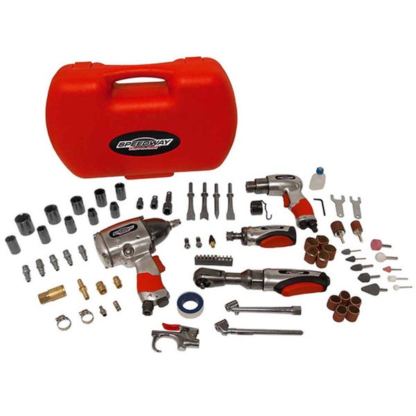 Speedway 74-piece Air Tool Accessory Kit