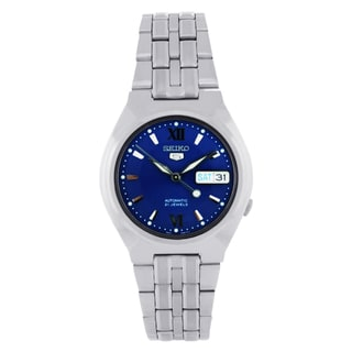 Seiko Men's 5 SNK319 Blue Dial Stainless Steel Watch