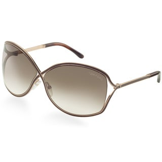 Tom Ford Women's 'Rickie TF179 48F' Oval Sunglasses