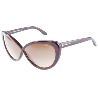 Tom Ford Women's 'Madison TF 253 52F' Cat-eye Sunglasses