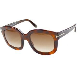 Tom Ford Women's 'Christophe TF 279 50F' Square Sunglasses