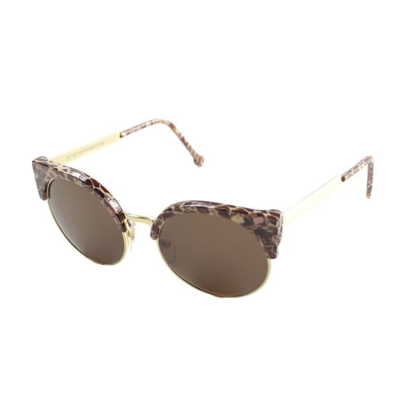Retro Super Future Women's 'Ilaria Fierce' Cat Eye Sunglasses