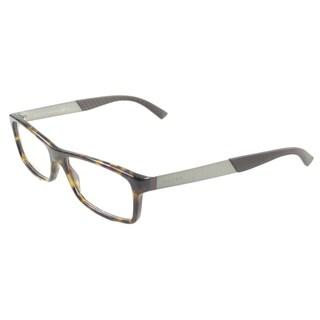 Gucci Unisex GG 1054 BCR Havana Eyeglasses