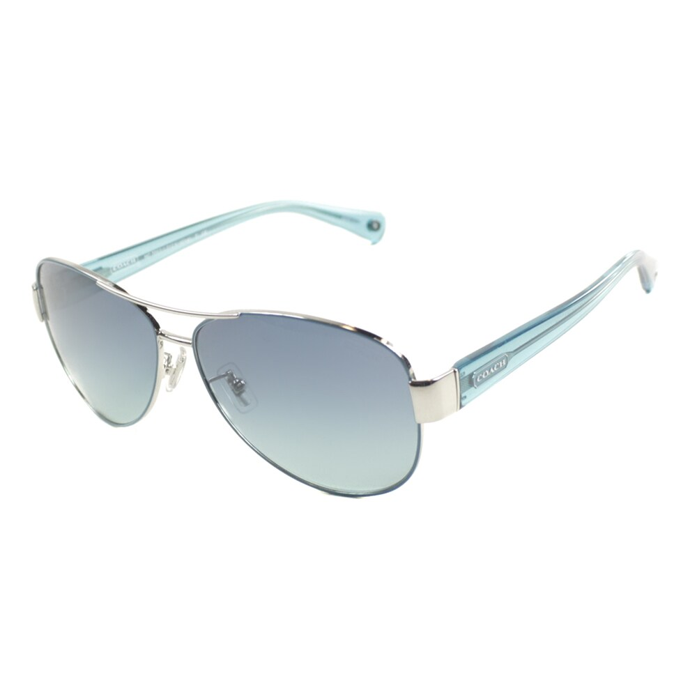 9ce80c0087 ... store coach charity metal aviator sunglasses 781a1 02d56