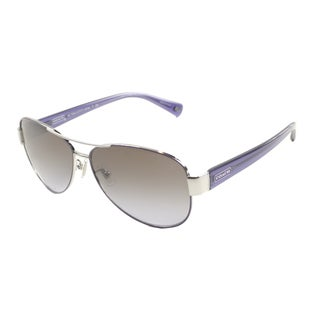 Coach Women's 'Kristina HC 7003 L012 912568' Aviator Sunglasses