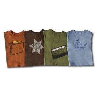 Toddler Boys Graphic T-shirt Set (Pack of 4)