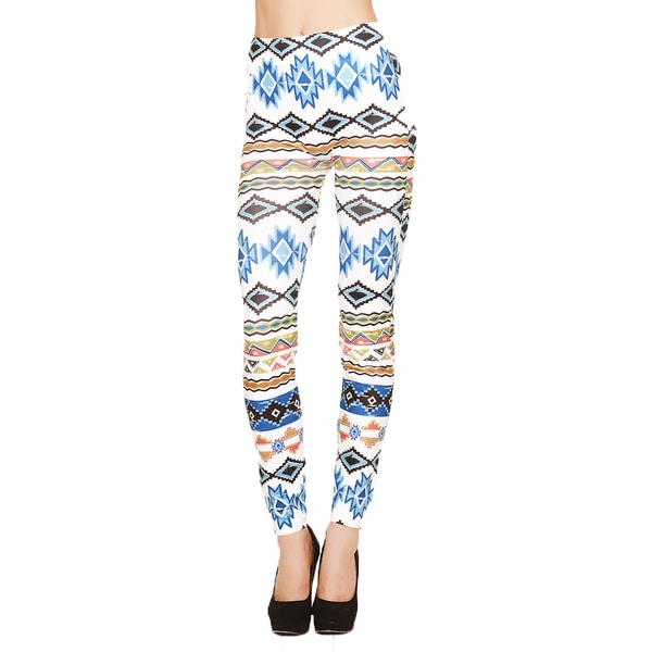 Just One Women's Navajo Fusion Print Seamless Leggings