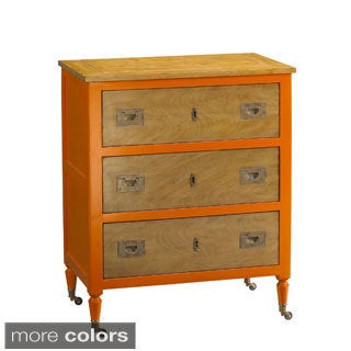 French Heritage Small 3-drawer Chest