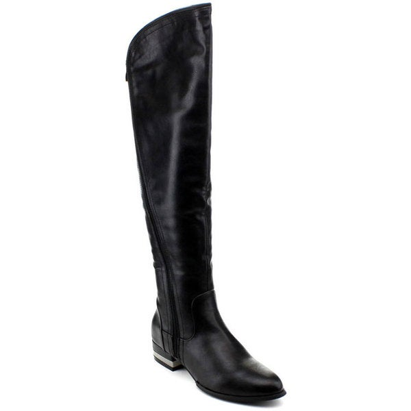 Reneeze Women's 'Kelly-021' Solid Knee-high Riding Boots