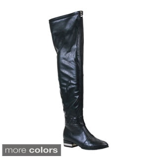 Reneeze Women's 'Kelly-01' Thigh-high Riding Boots