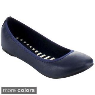 Blossom Women's 'Epson-66' Slip-on Ballet Flats