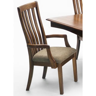 Intercon Highland Park Solid Oak Arm Chair (Set of 2)