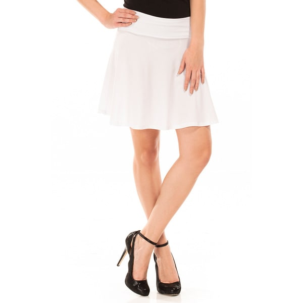 Women's Pleated Skater Skirt