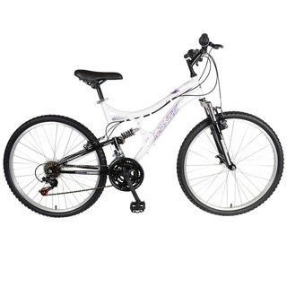 Mantis Women's Orchid 26-inch Dual Suspension Bicycle