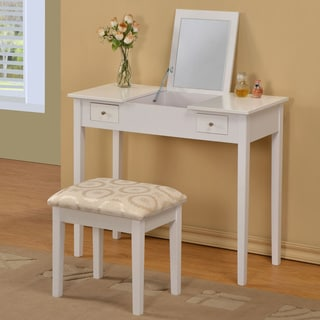 William's Home Furnishing White Bodai Vanity