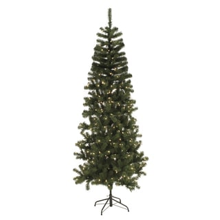 2 Foot Pre-lit Slim Tree
