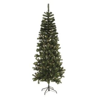 2 Foot Pre-lit Slim Tree