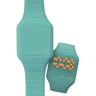 Dakota Fusion Mini 'Teal Hidden Touch' Digital LED Watch