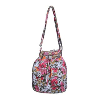 Vera Bradley Tea Garden Quick Draw Shoulder Bag