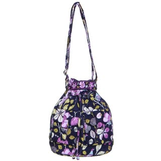 Vera Bradley Floral Nightingale Quick Draw Shoulder Bag