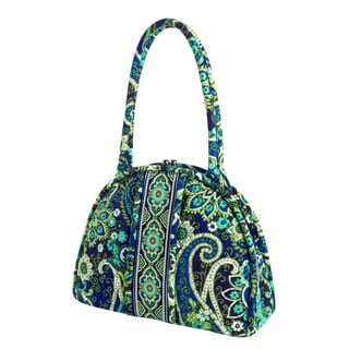 Vera Bradley Eloise Rhythm and Blues Satchel