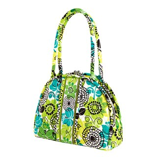 Vera Bradley Eloise Lime's Up Satchel