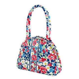 Vera Bradley Eloise Summer Cottage Satchel