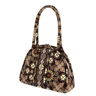Vera Bradley Eloise Canyon Quilted Satchel