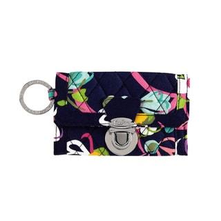 Vera Bradley Ribbons Quick Swipe ID Wallet
