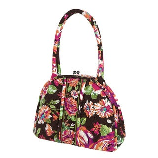 Vera Bradley Eloise English Rose Satchel