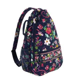 Vera Bradley Ribbons Sling Tennis Backpack Shoulder Bag