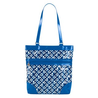Vera Bradley Everything Nice Tote Blue Lagoon