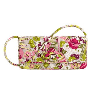 Vera Bradley Make Me Blush Knot Just a Clutch