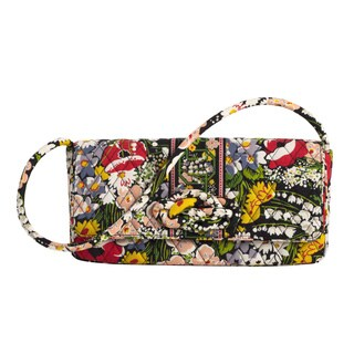 Vera Bradley Poppy Fields Knot Just a Clutch