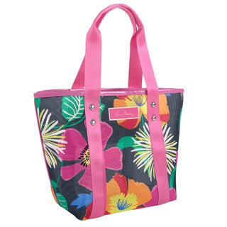 Vera Bradley Jazzy Blooms Small Mesh Tote
