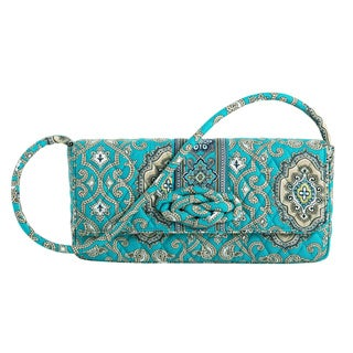 Vera Bradley Totally Turq Knot Just a Clutch