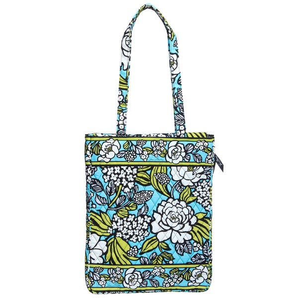 Vera Bradley Island Blooms Laptop Travel Tote