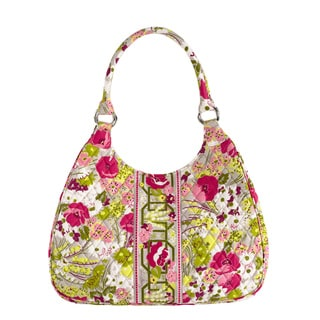 Vera Bradley Make Me Blush Large Hobo