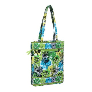 Vera Bradley Lime's Up Laptop Travel Tote