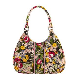 Vera Bradley Poppy Fields Large Hobo Bag