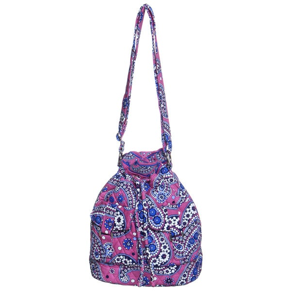 Vera Bradley Boysenberry Quick Draw Shoulder Bag
