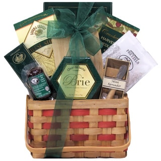 Picnic Time Gourmet Cheese Gift Basket
