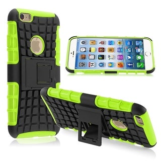 BasAcc Non-slip Dust Proof Stand TPU PC Hybrid Case for Apple iPhone 6 4.7-inch