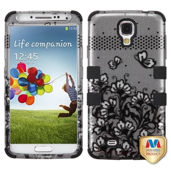 INSTEN Shock Proof PC Soft Silicone Hybrid Phone Case Cover for Samsung Galaxy S4/ S IV
