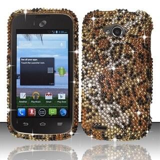 BasAcc Shinny Diamond Bling Design Hard Case for ZTE Savvy Z750c